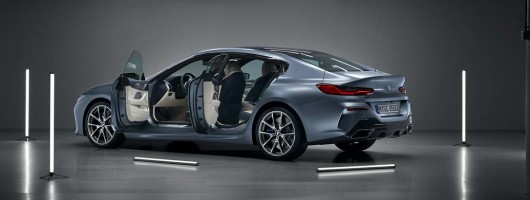 Gran Coupe joins BMW 8 Series line. Image by BMW.