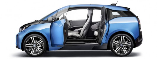BMW i3 goes further than before. Image by BMW.