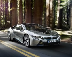 Incoming: BMW i8. Image by BMW.