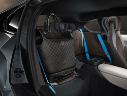 2014 BMW i8 luggage by Louis Vuitton. Image by BMW.
