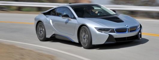 First drive: BMW i8. Image by BMW.