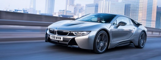 First drive: BMW i8 Coupe 2019MY LCI. Image by BMW.