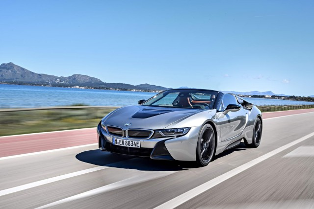 First drive: BMW i8 Roadster. Image by BMW.