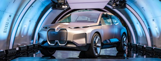 BMW allows Vision iNext drives at CES. Image by BMW.