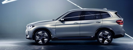 BMW previews all-electric X3. Image by BMW.
