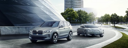 BMW iX3 sports latest eDrive tech. Image by BMW AG.