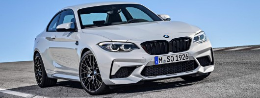 New BMW M2 Competition revealed. Image by BMW.
