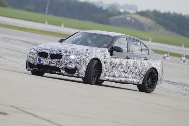 Passenger preview: 2014 BMW M4 Coupé. Image by BMW.