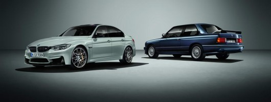 BMW M3 hits the big 3 0. Image by BMW.