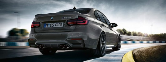 BMW creates ultimate M3 CS. Image by BMW.