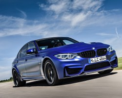 BMW's new M3 CS. Image by Uwe Fischer.