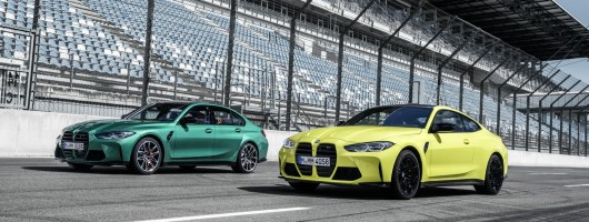 BMW M3 and M4 revealed. Image by BMW AG.