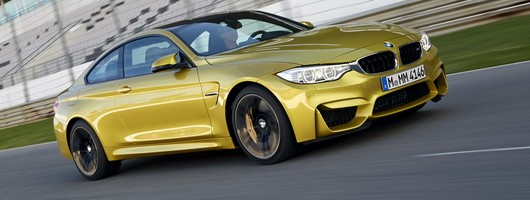 First drive: BMW M4 Coupé. Image by BMW.
