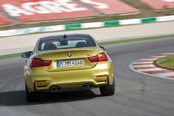2014 BMW M4 Coupe. Image by BMW.