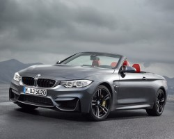 Incoming: BMW M4 Convertible. Image by BMW.