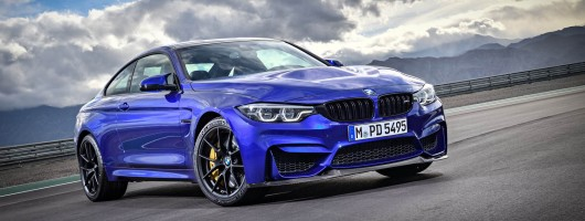 Harder and lighter: the glorious BMW M4 CS. Image by BMW.