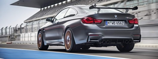 High-tech BMW M4 GTS revealed. Image by BMW.