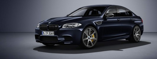 More power for the BMW M5. Image by BMW.