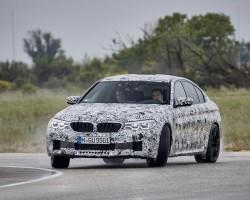 BMW M5 prototype. Image by Uwe Fischer.