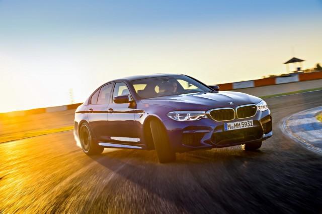 First drive: 2018 BMW M5. Image by BMW.