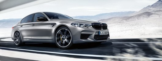 BMW reveals 625hp M5 Competition. Image by BMW.