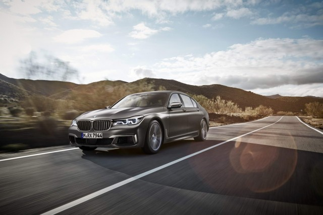Driven: BMW M760Li. Image by BMW.