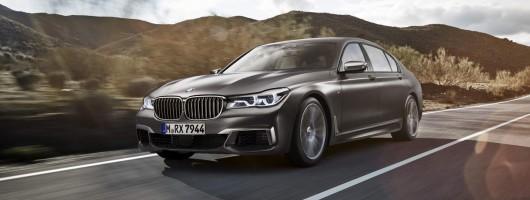 Driven: BMW M760Li. Image by BMW.