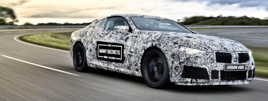 BMW debuts camouflaged M8 at Ring. Image by BMW.
