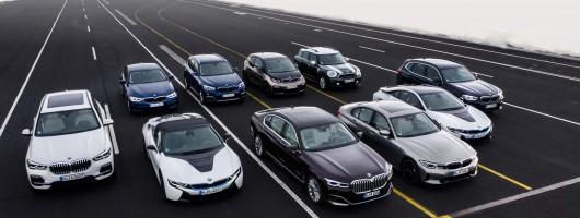 PHEV X3 headlines BMW's electric Geneva act. Image by BMW.