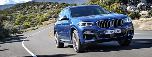 BMW swells X3 family with M40d. Image by BMW.