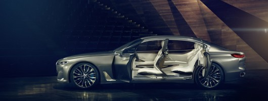 BMW's futuristic luxury concept. Image by BMW.