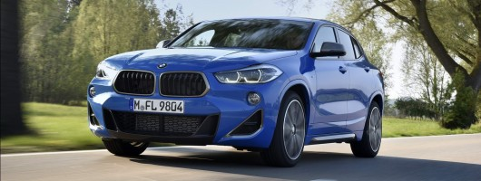 First drive: BMW X2 M35i. Image by BMW.