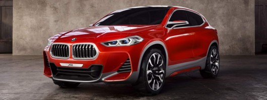 Paris 2016: BMW unveils X2 Concept. Image by BMW.