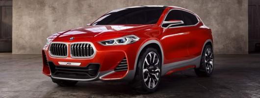 Paris 2016: BMW unveils X2 Concept. Image by BMW.