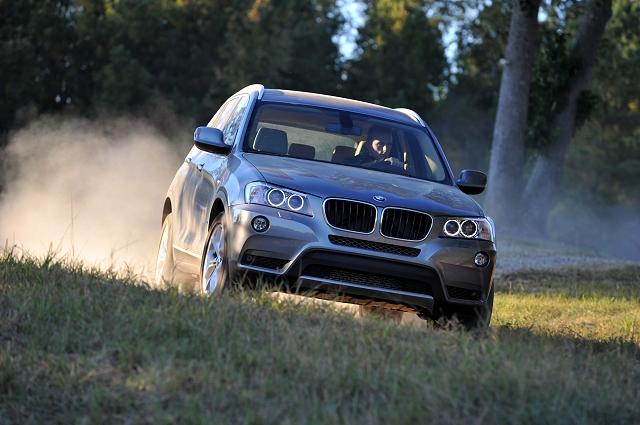 First Drive: BMW X3 xDrive20d. Image by Richard Newton.