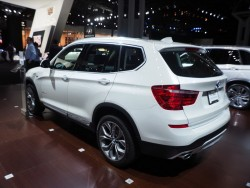 2014 BMW X3. Image by Newspress.