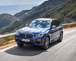 BMW X3 M40i. Image by BMW.