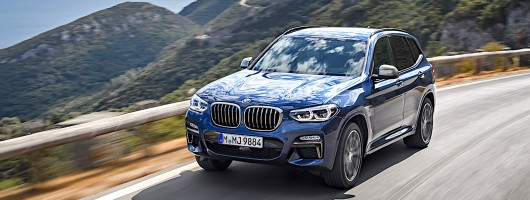 First drive: BMW X3 M40i. Image by BMW.