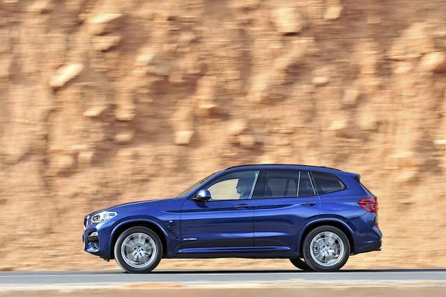 Driven: BMW X3 20d xDrive. Image by BMW.