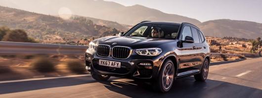 Driven: BMW X3 xDrive20d M Sport. Image by BMW.