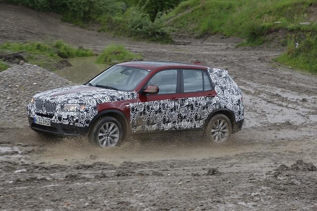 First Drive: 2011 BMW X3. Image by BMW.