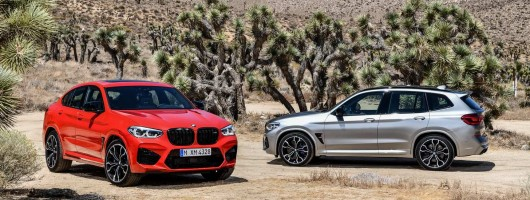 BMW hots up X3 and X4 models. Image by BMW.