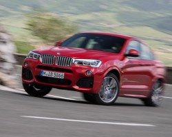 Incoming: BMW X4 xDrive30d. Image by BMW.