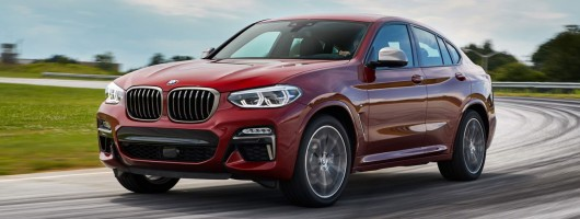 First drive: BMW X4 M40d. Image by BMW.