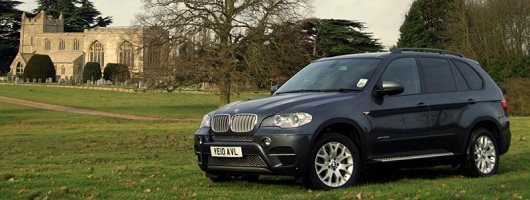 BMW X5 is thieves' favourite. Image by Dave Jenkins.