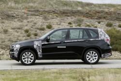 2014 BMW X5 eDrive plug-in hybrid prototype. Image by BMW.