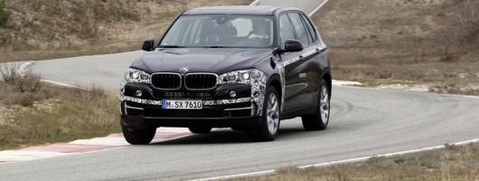 First drive: BMW X5 eDrive Plug-in Hybrid. Image by BMW.