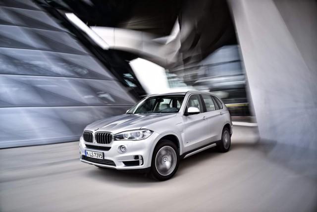 First drive: BMW X5 xDrive40e. Image by BMW.