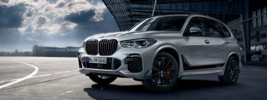 BMW offers new M Performance kit for X5. Image by BMW.