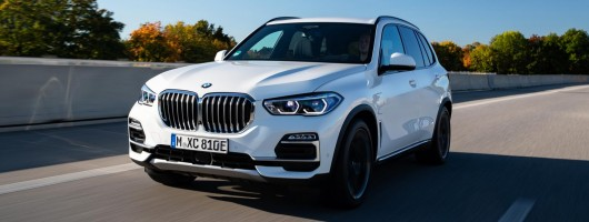 First drive: BMW X5 xDrive45e. Image by BMW AG.